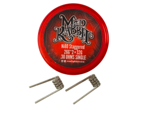 Mad Rabbit Ni80 Staggered Coil (2 Stück pro Packung)