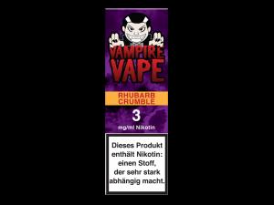 Vampire Vape Rhubarb Crumble- E-Zigaretten Liquid