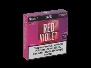 SC Easy 3 Caps Red Violet Amarenakirsche (2 Stück pro Packung)
