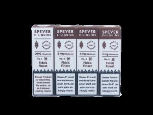 Spever Fidels Finest - E-Zigaretten Liquid