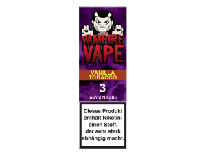 Vampire Vape Vanilla Tobacco- E-Zigaretten Liquid