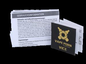 Kit clearomiseur X VapePorn Vice RDA d'asMODus