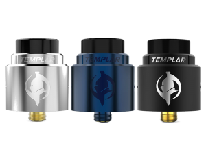 Augvape Templar RDA Clearomizer Set