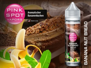 Pink Spot - Banana Nut Bread 50ml - 0mg/ml