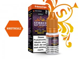 Stirred, not Shaken - E-Zigaretten Nikotinsalz Liquid