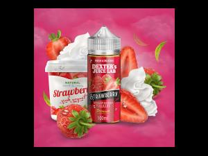 Dexter's Juice Lab - Strawberry Yoghurt 0 mg/ml 100ml