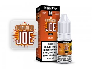 Commander Joe Tabak Aroma - Liquid für E-Zigaretten