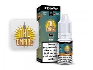 The Empire Tabak Nuss Aroma - Liquid für E-Zigaretten