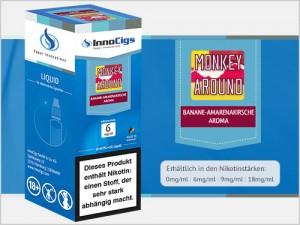 Monkey Around Bananen-Amarenakirsche Aroma - Liquid für E-Zigaretten