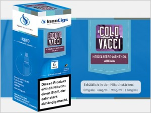 Cold Vacci Heidelbeere-Menthol Aroma - Liquid für E-Zigaretten