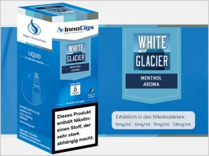 White Glacier Fresh Aroma - Liquid für E-Zigaretten