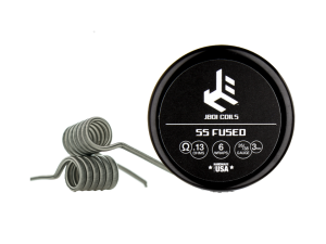 JBOI SS Fused Clapton Coil 0,13 Ohm (2 Stück pro Packung)