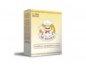 Mr. Macaron Vanilla Marshmallow E-Zigaretten Liquid (3x 10ml)