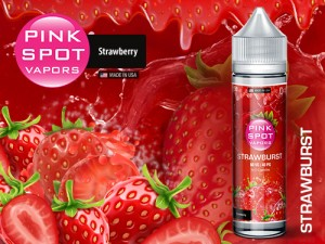 Pink Spot - Strawburst 50ml - 0mg/ml