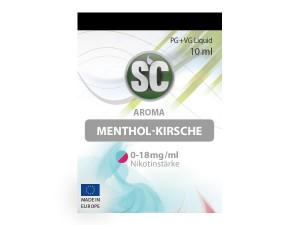 Menthol-Kirsche E-Zigaretten Liquid