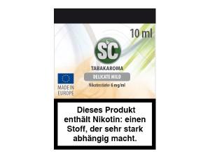 Delicate Mild Tabak E-Zigaretten Liquid