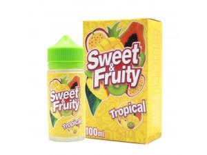 Sweet & Fruity - Tropical - 80ml - 0mg