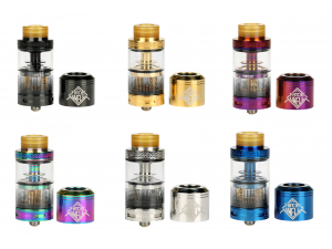 Uwell Fancier RTA Clearomizer Set