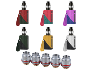 VooPoo Find E-Zigaretten Bundle Set mit Uforce N3 Triple Mesh 0,2 Ohm Heads